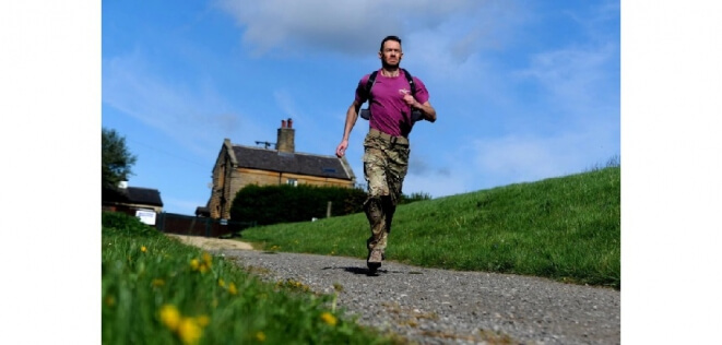 Ex-Paratrooper has set himself two tough challenges