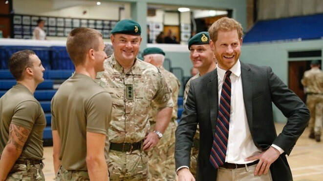 Harry makes date with troops in Arctic Circle